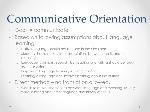 Communicative+Orientation