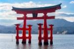 Japon-Miyajima-Itsukushima-Torii-Dia