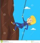 donna-che-scala-montagne-con-la-corda-83459727