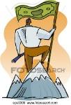 uno-uomo-a-cima-di-uno-montagna-archivio-illustrazioni__sps0309