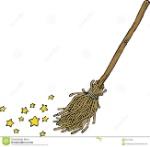 cartoon-magic-broom-white-background-illustration-66716298