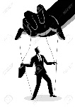93213565-business-concept-vector-illustration-of-a-businessman-being-controlled-by-puppet-master