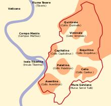 orografia roma