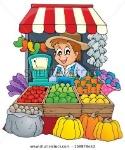 ตลาดผลไม้