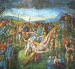 6. Crucifixión de San Pedro