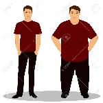 84563632-mince-et-gras-obésité-de-mince-à-gros-le-garçon-devient-gros-prend-du-poids-objets-isolés-illustration-vectori