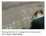history learning outside - photograph