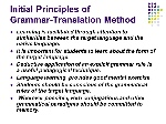 Initial+Principles+of+Grammar-Translation+Method
