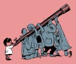 Científicos a niños