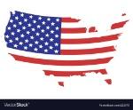 us-flag-map-vector-223373