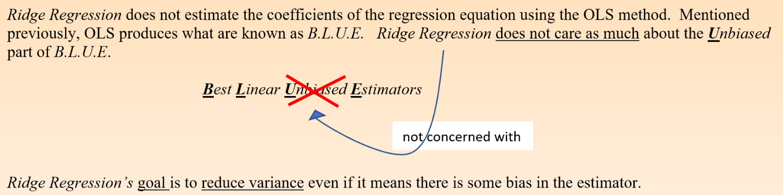 Ridges concern