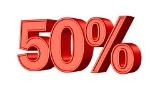50_3d_percent_cc0