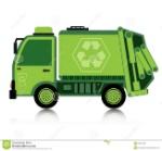 car-garbage-truck-white-background-35307909