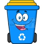 1508565-royalty-free-rf-clipart-illustration-happy-blue-recycle-bin-cartoon-character-vector-illustration-isolated-on-white-background