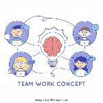 concepto-trabajo-equipo-estilo-dibujo-mano_23-2147855942
