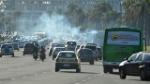 veículos emissão poluentes