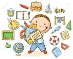 35233091-colegial-de-dibujos-animados-con-un-montón-de-cosas-de-la-escuela-que-representan-diferentes-materias-e