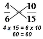 Multiplição cruzada222
