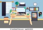 workplace-vector-illustration-eps-vectors_csp58343930