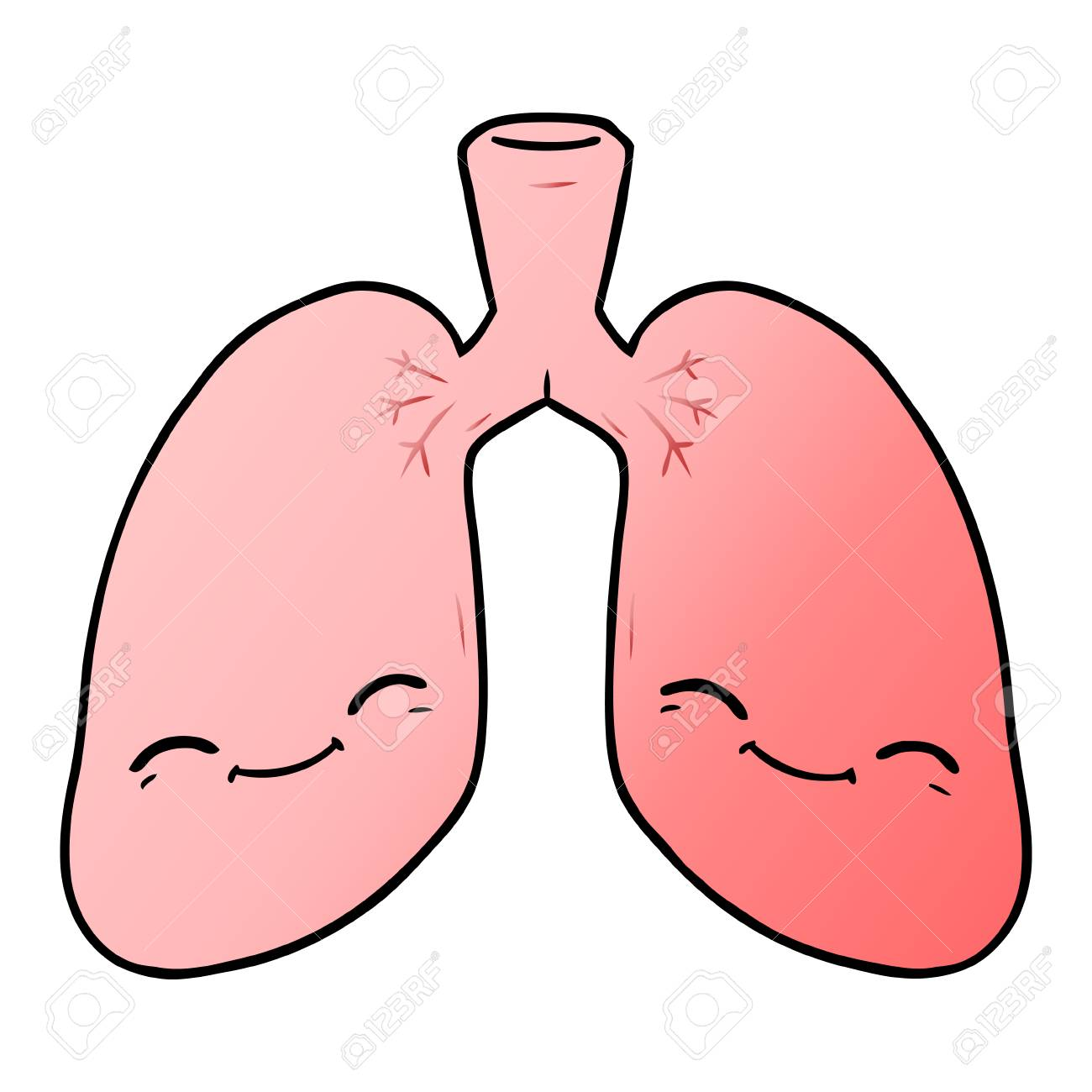 95545053-cartoon-lungs-illustration-design-