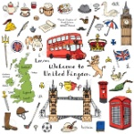 56571005-Hand-drawn-doodle-United-Kingdom-set-Vector-illustration-UK-icons-Welcome-to-London-elements-British-Stock-Vector
