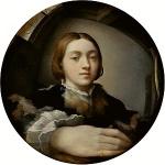 300px-Parmigianino_Selfportrait