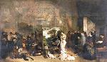 1854-55ギュスターヴ・クールベ「画家のアトリエ」写実主義
