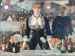 1882エドゥアール・マネ「フォリー・ヴェルジェ―ルのバー」印象派