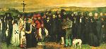 1849クールベ「オルナンの埋葬」