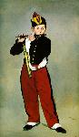 1866エドゥアール・マネ「笛を吹く少年」印象派