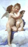 1890ウィリアム・アドルフ・ブグロー「アムールとプシュケー、子供たち」