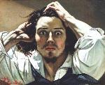 1843-45ギュスターヴ・クールベ「絶望(自画像)」写実主義