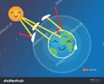 stock-vector-earth-atmosphere-greenhouse-effect-scheme-with-sun-rays-and-planet-vector-cartoon-eps-194543030