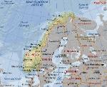 cartina norvegia