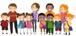 15590831-ilustracion-de-ninos-de-escuela-prolijamente-alineados-en-una-fila-junto-a-sus-padres