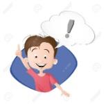 87715049-un-niño-pensando-una-burbuja-con-signo-de-exclamación-dibujado-en-estilo-de-dibujos-animados-aislado-en-el